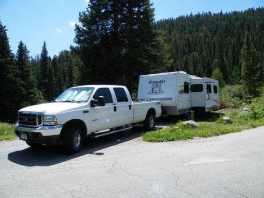 RV friendly - level campsites