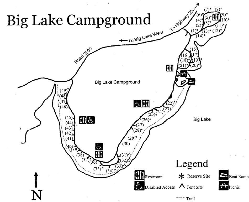 American Land & Leisure - Big Lake Campgrounds, Santiam Pass