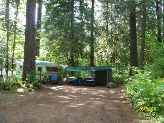 RV friendly camping