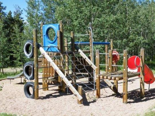 Playground on-site