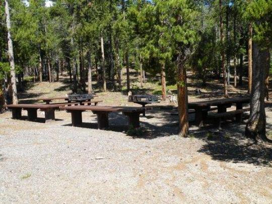 Large cooking area in Picnic Site