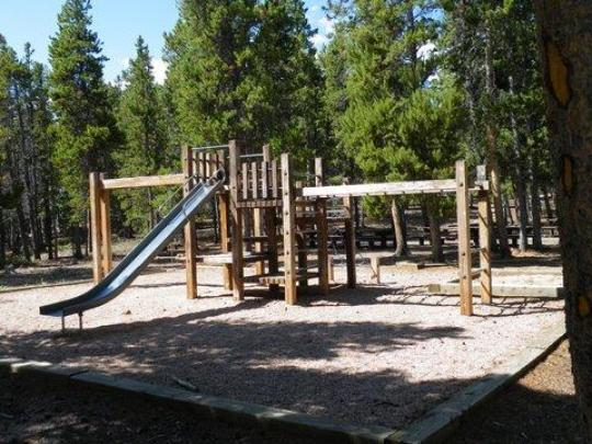 Playground in picnic site