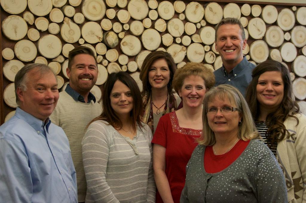 Left to right: Gary, Matt, Julie, Maria, Melanie, Claudia, Steve and Jenny