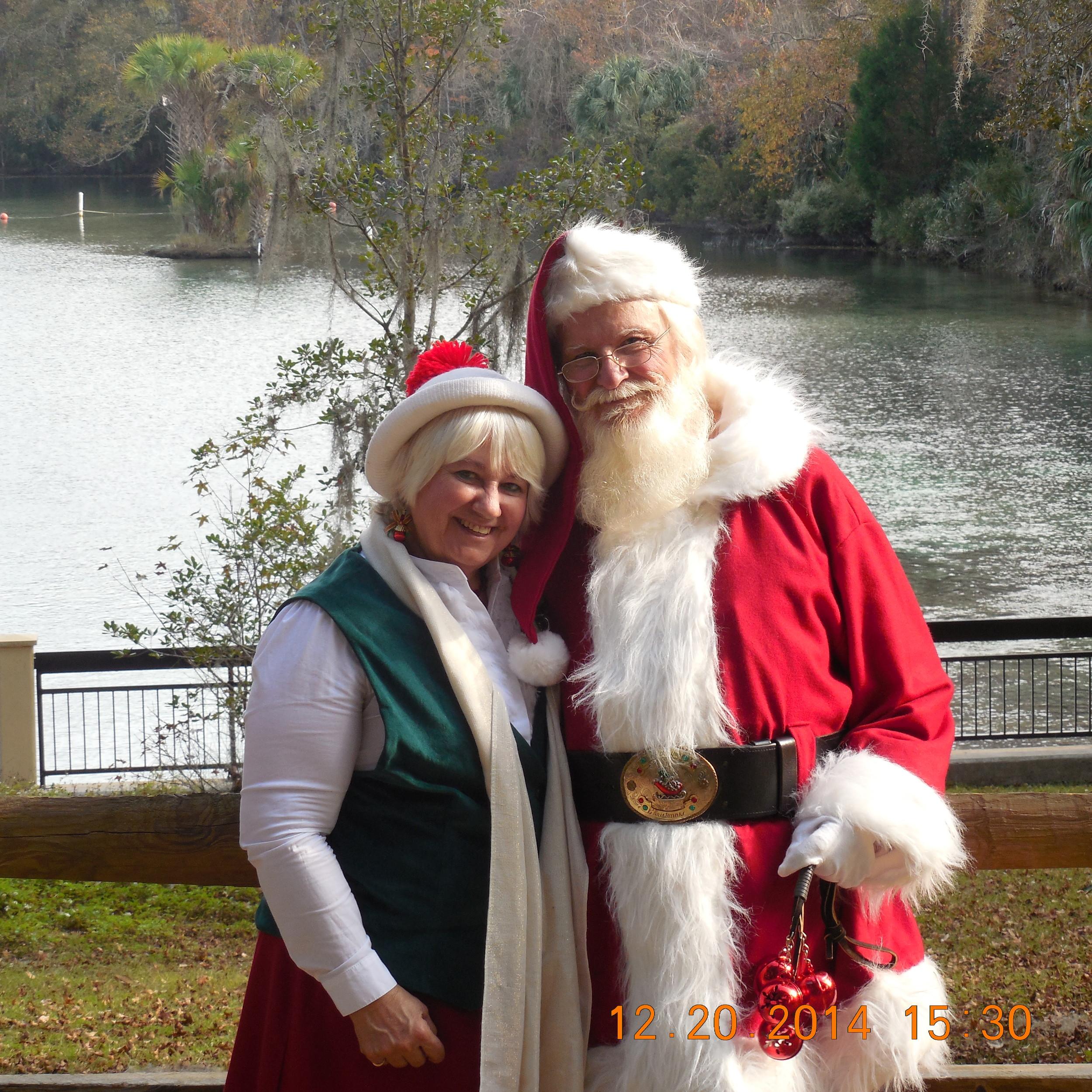 Mr & Mrs Santa Claus