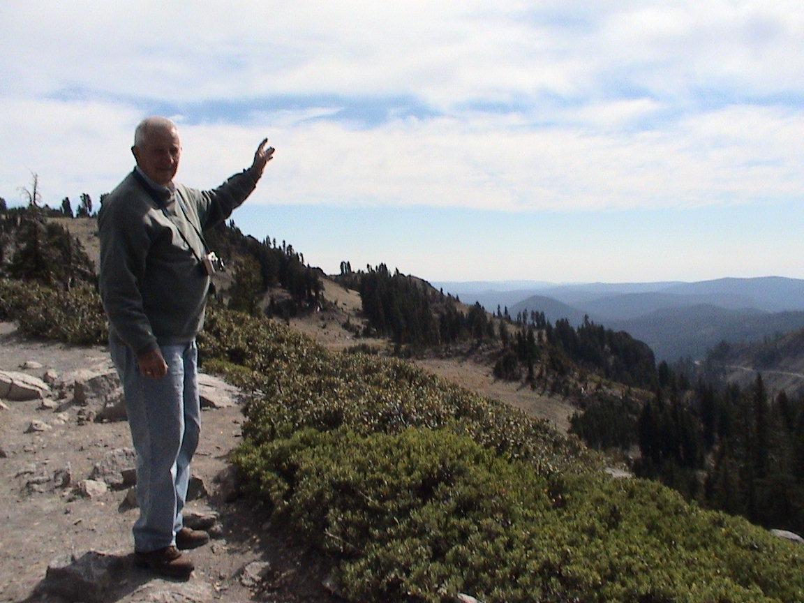 Bumpass Hell Trail in September