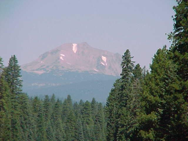 Mt Lassen in July