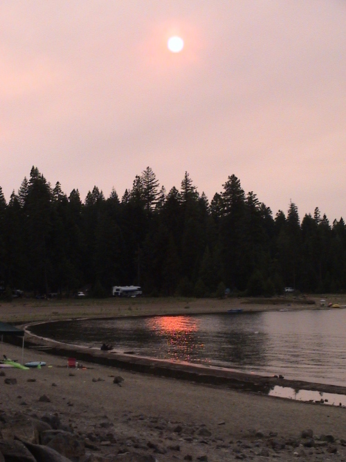 Lake Almanor camping in Rocky Point Campground