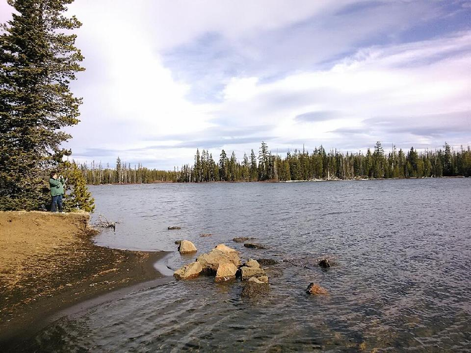 View from Big Lake Campground
