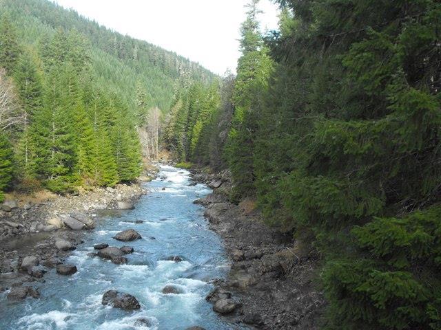 Blue River from Mona Bridge