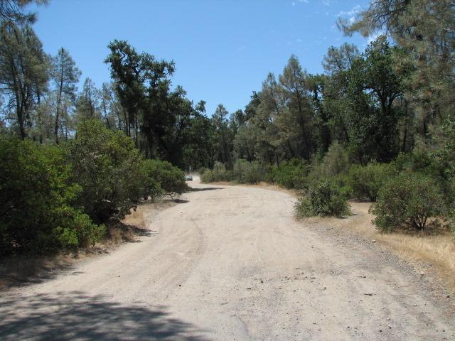Gravel access roads