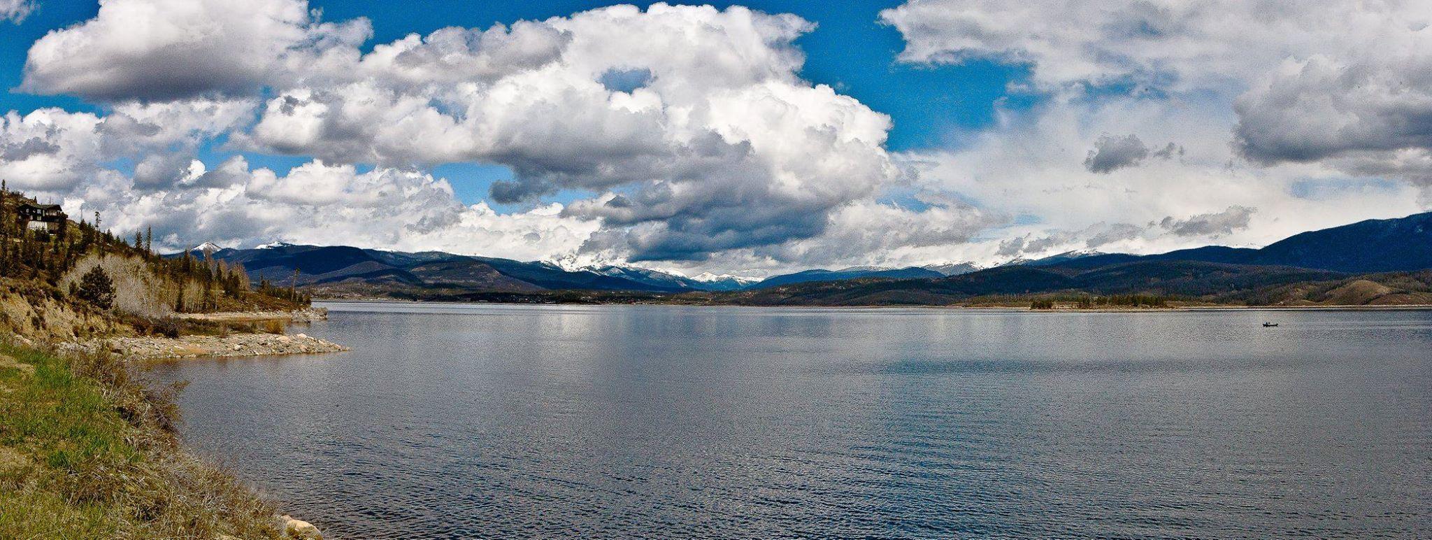 Big sky over Lake Granby