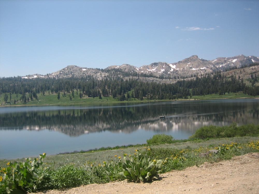 Upper Blue Lake, CA