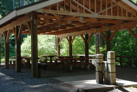 Cove Creek group pavilion