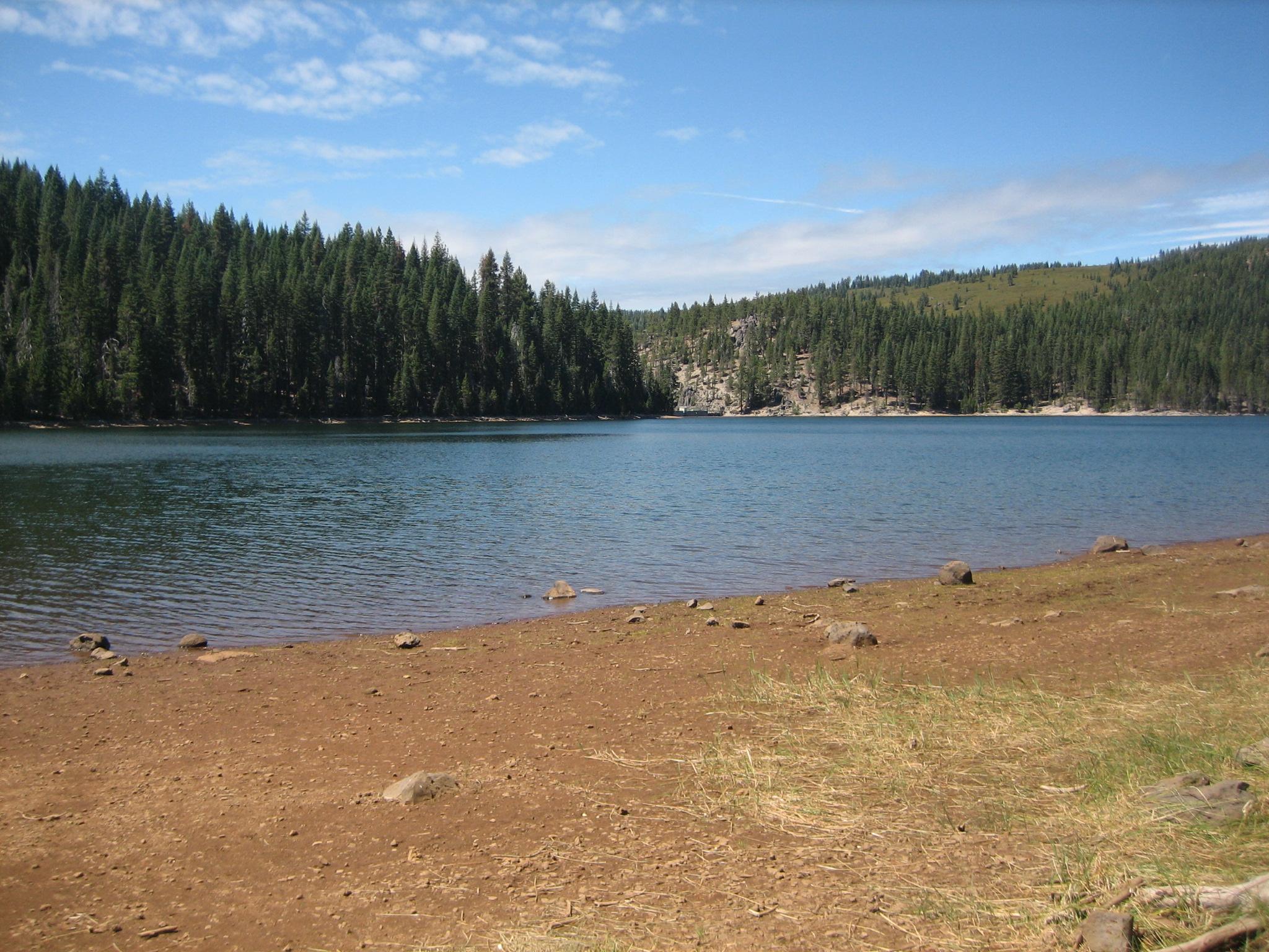 Stunning lake view