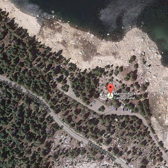 Marmot Rock Campground location