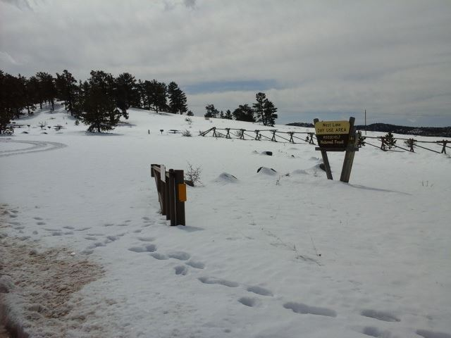West Lake Wintertime