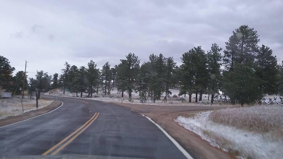 Dusting of snow