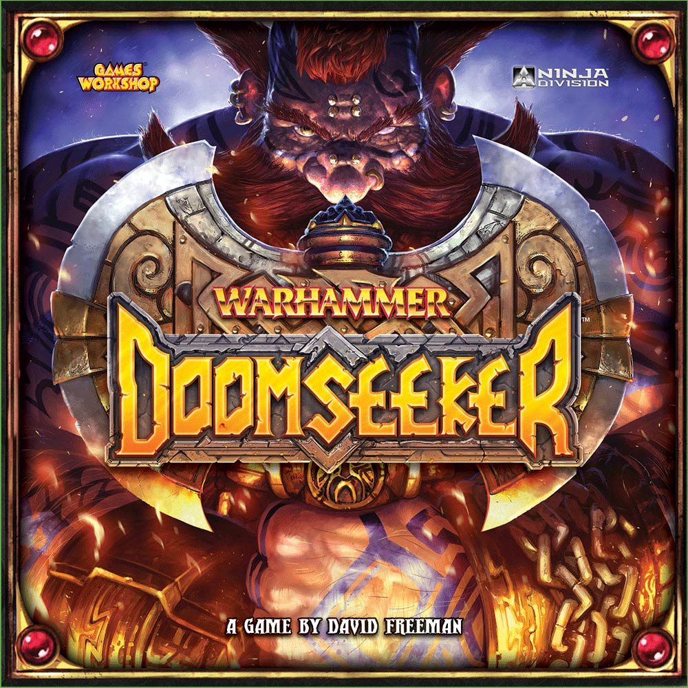 Doomseeker Cover Art and Logo