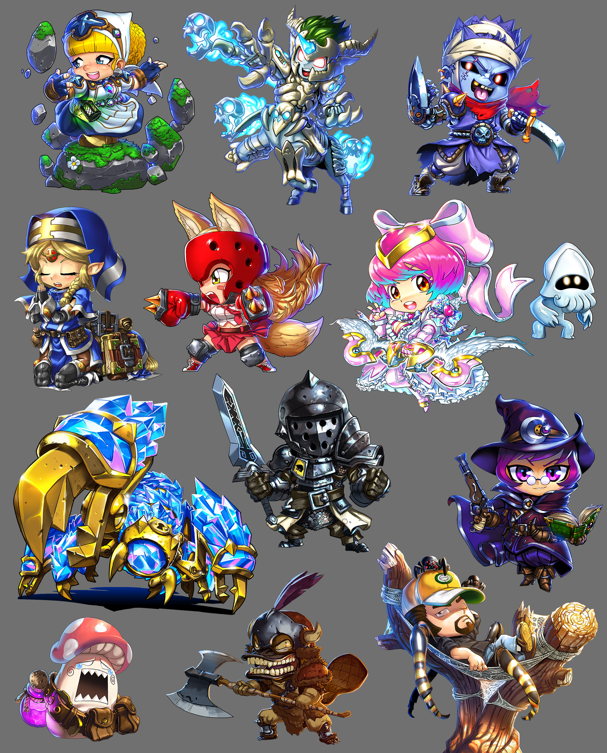 Super Dungeon Character Art Sample 1
