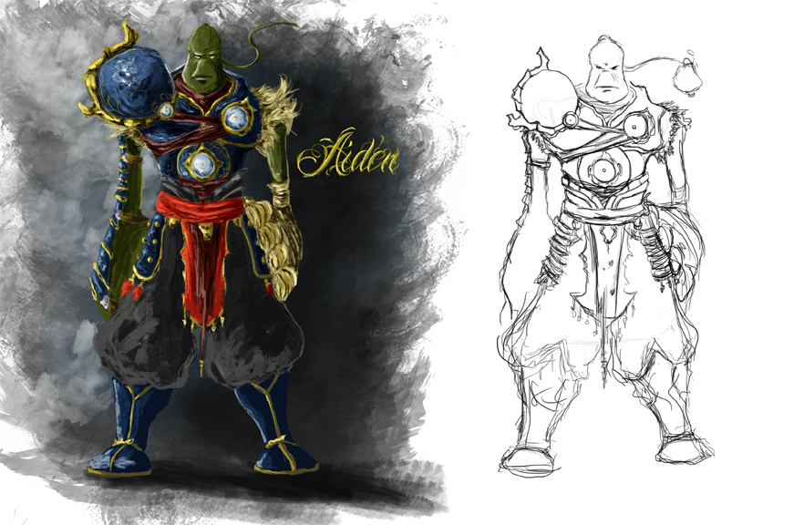 Finally nailed down Aiden the main character in my graphic novels look. Hope you enjoy. :)