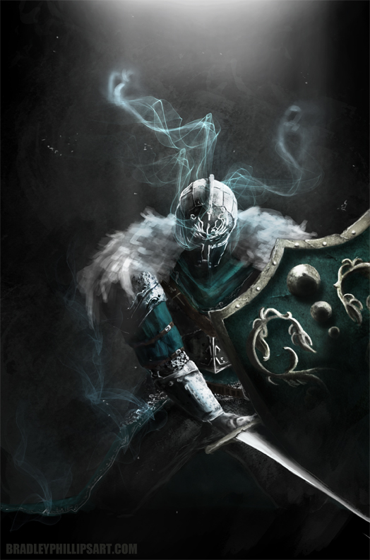 Some new stuff i have finished. This is a fan art piece for dark souls 2 enjoy :)