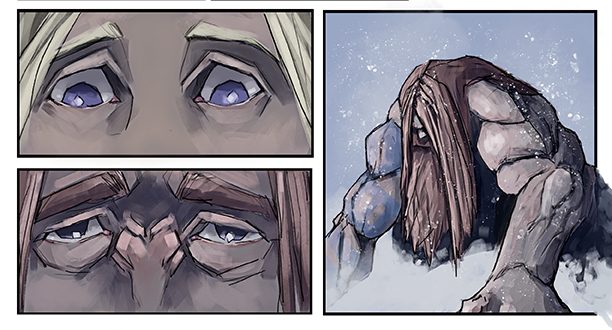 Here are some new panels from Bloodshed. I can't wait for this to be finished so I can show the finished product.