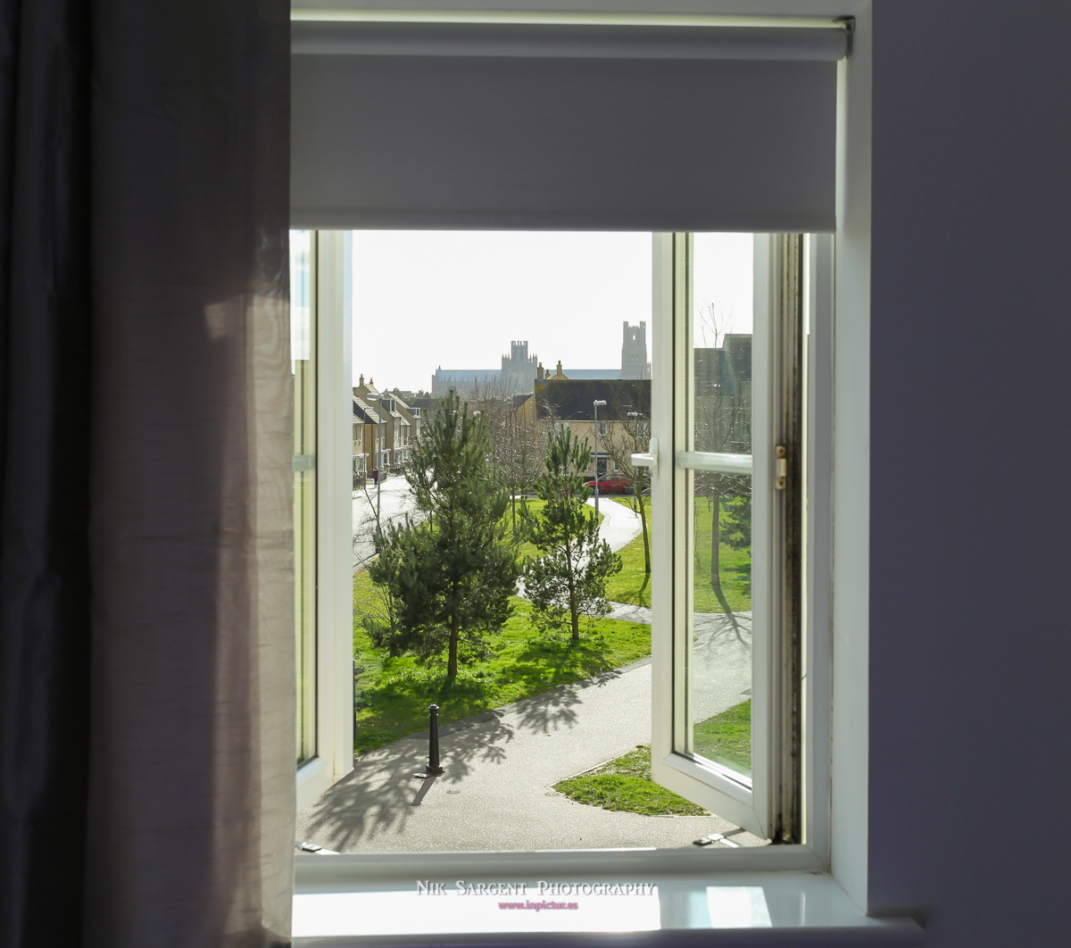 Ely Cathedral from Master Bedroom