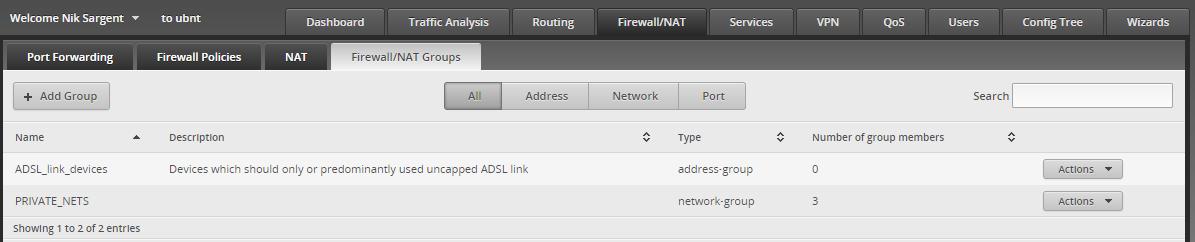 Configure Ubiquiti Edge Router Lite with Preferential Load