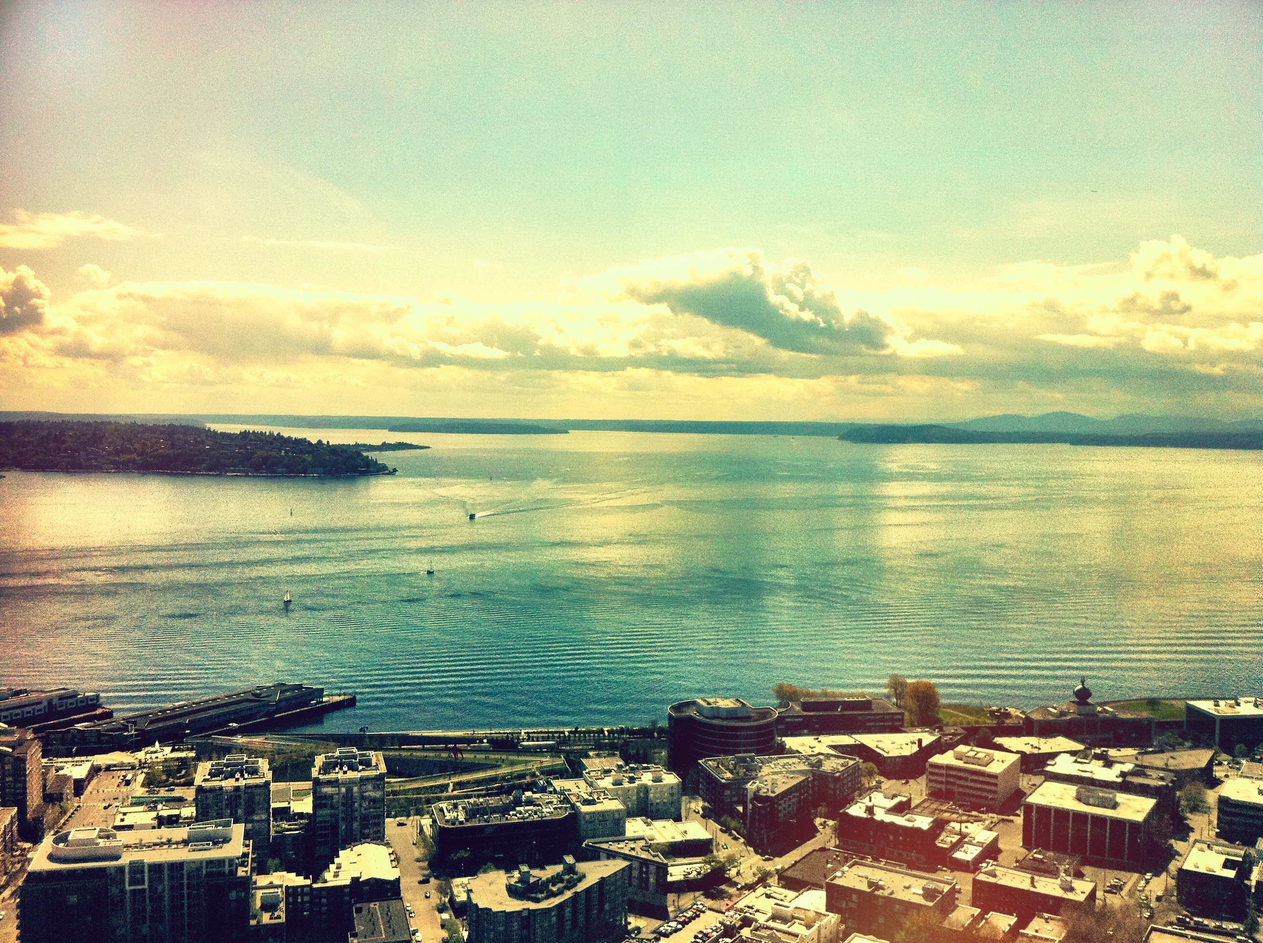 View of Puget Sound from the Space Needle