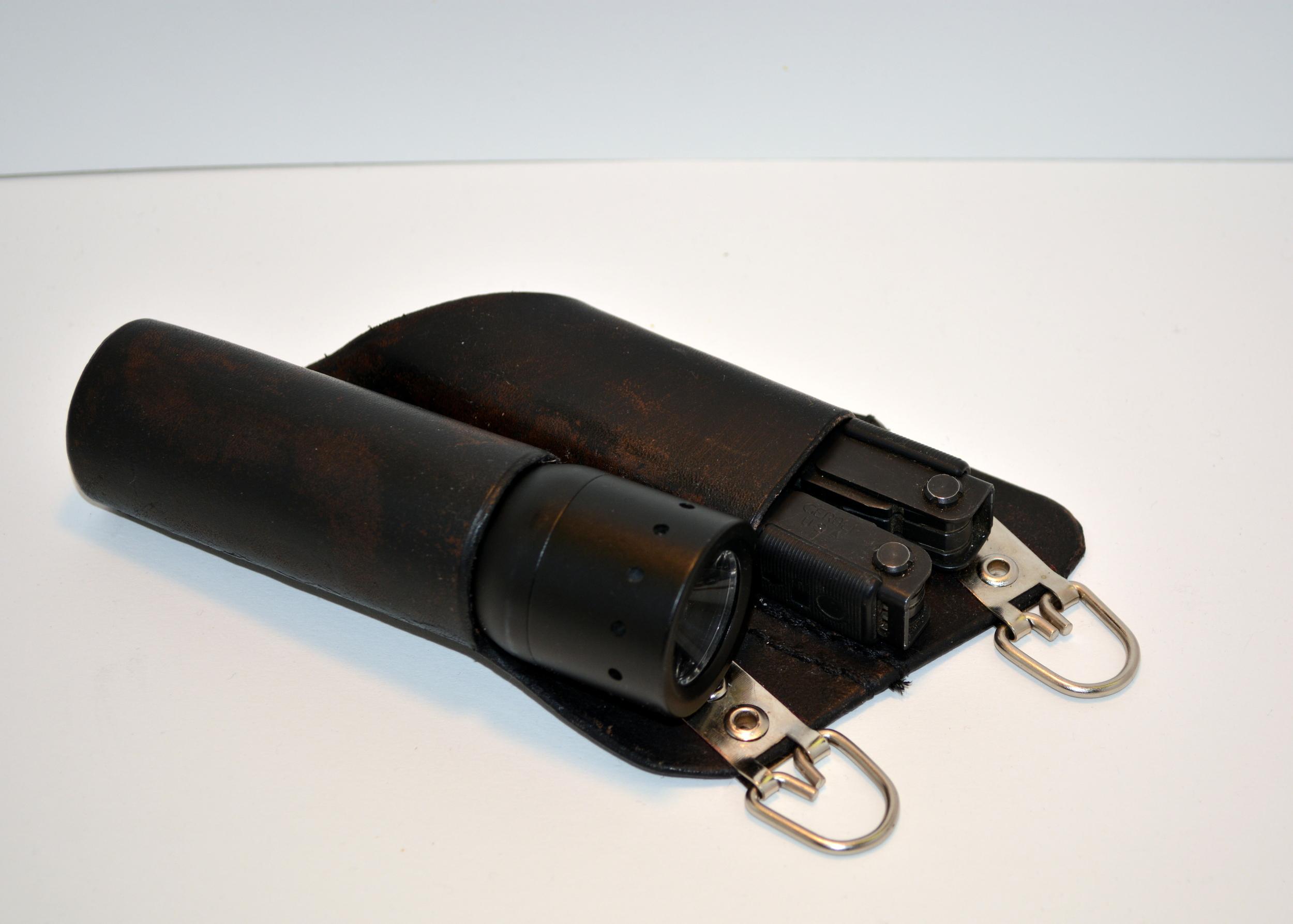 flashlight and multi-tool