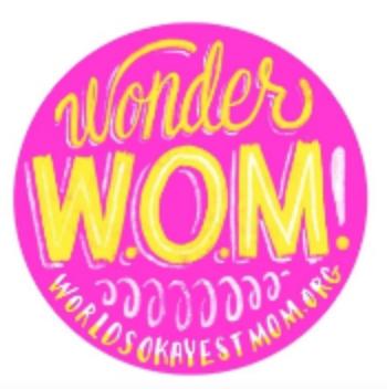 Give $20+/month ($240+/year) & get a WonderWOM sticker!