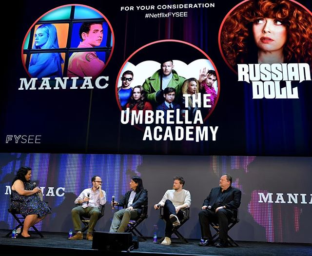 Honored to be part of #netflixfysee speaking about the #productiondesign of @russiandollnetflix - So. Cool.