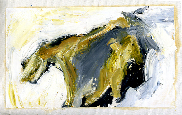 """Oil painted frame from """"Hepa!"""""""