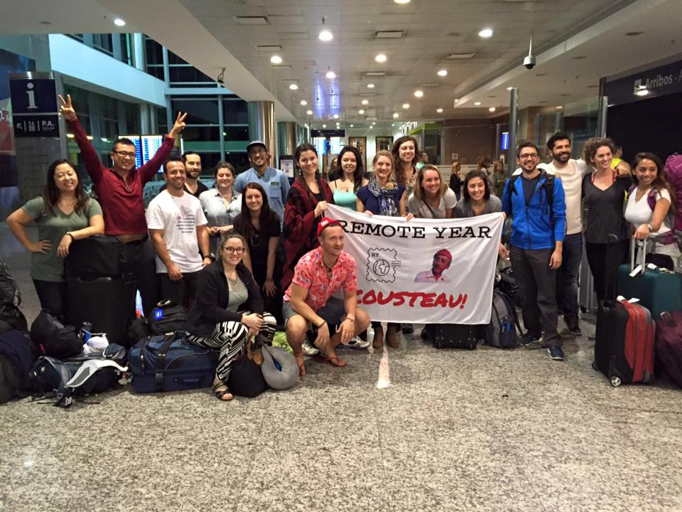 "The last large group of ""Remotes"" to arrive in Córdoba"
