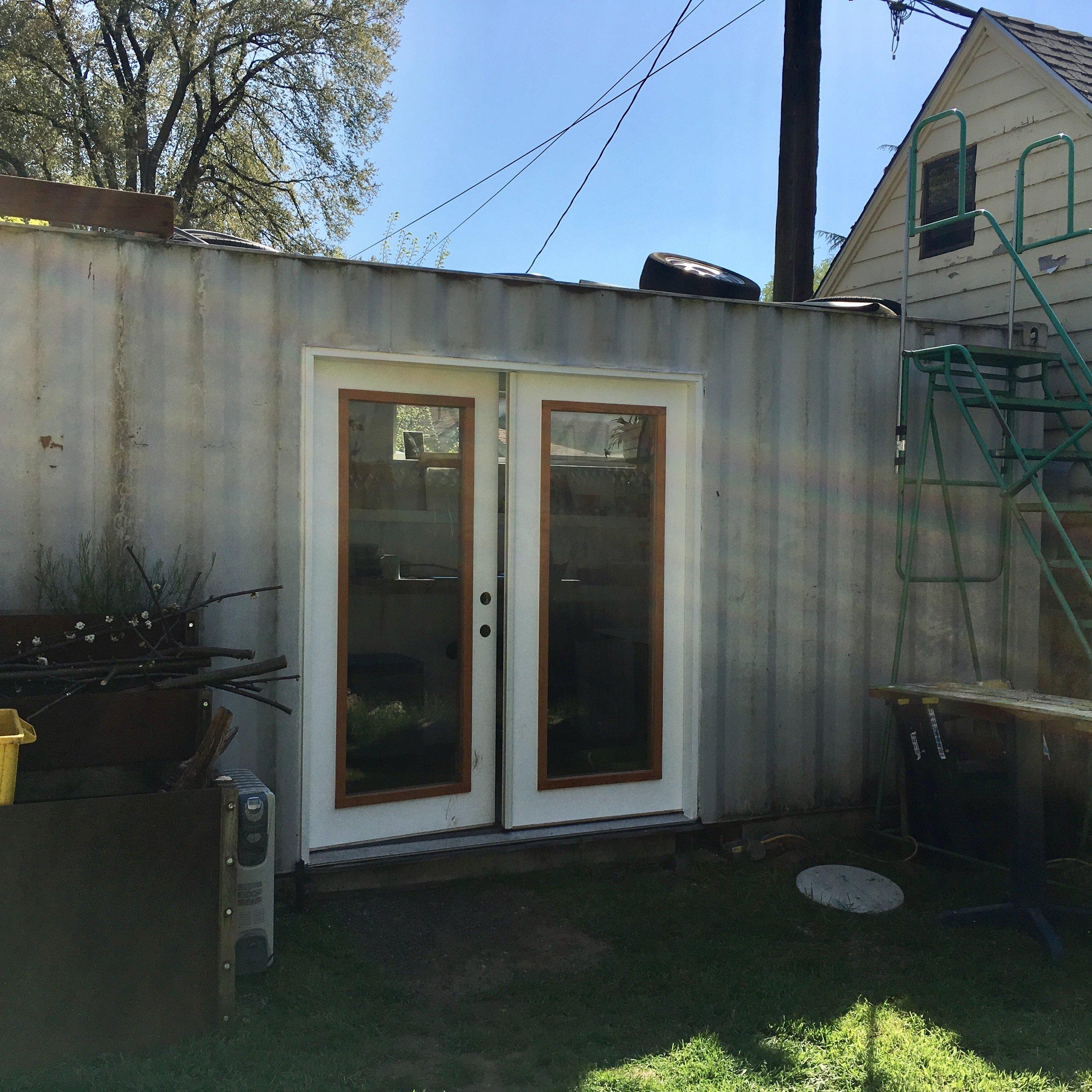 Container Studio Exterior View -