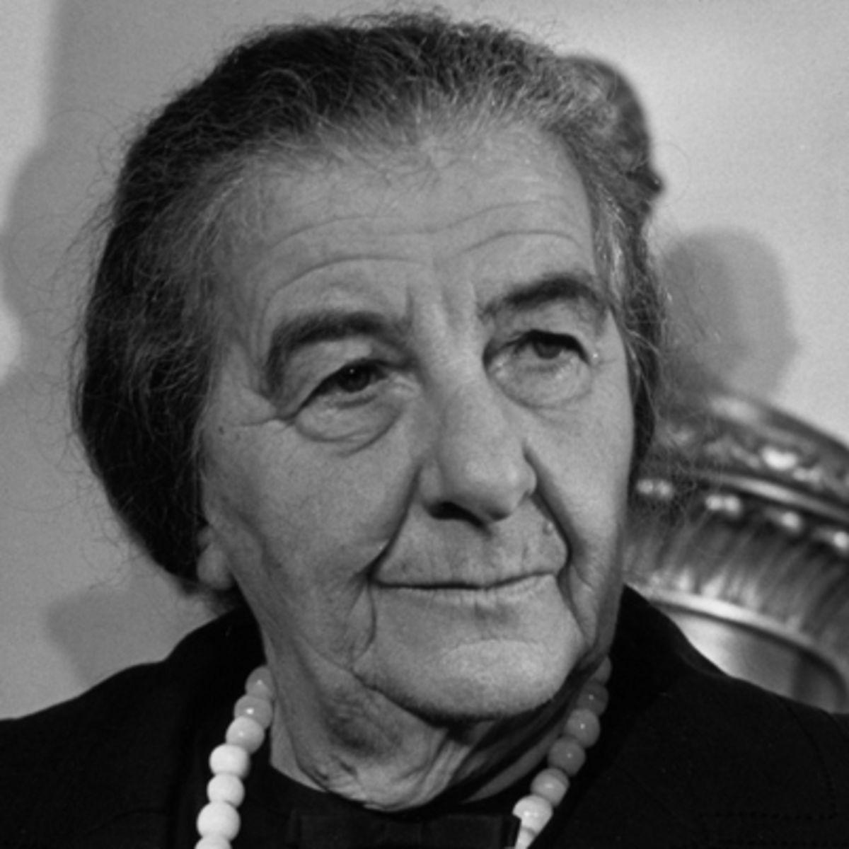 Golda Meir: Image Credit - www.biography.com
