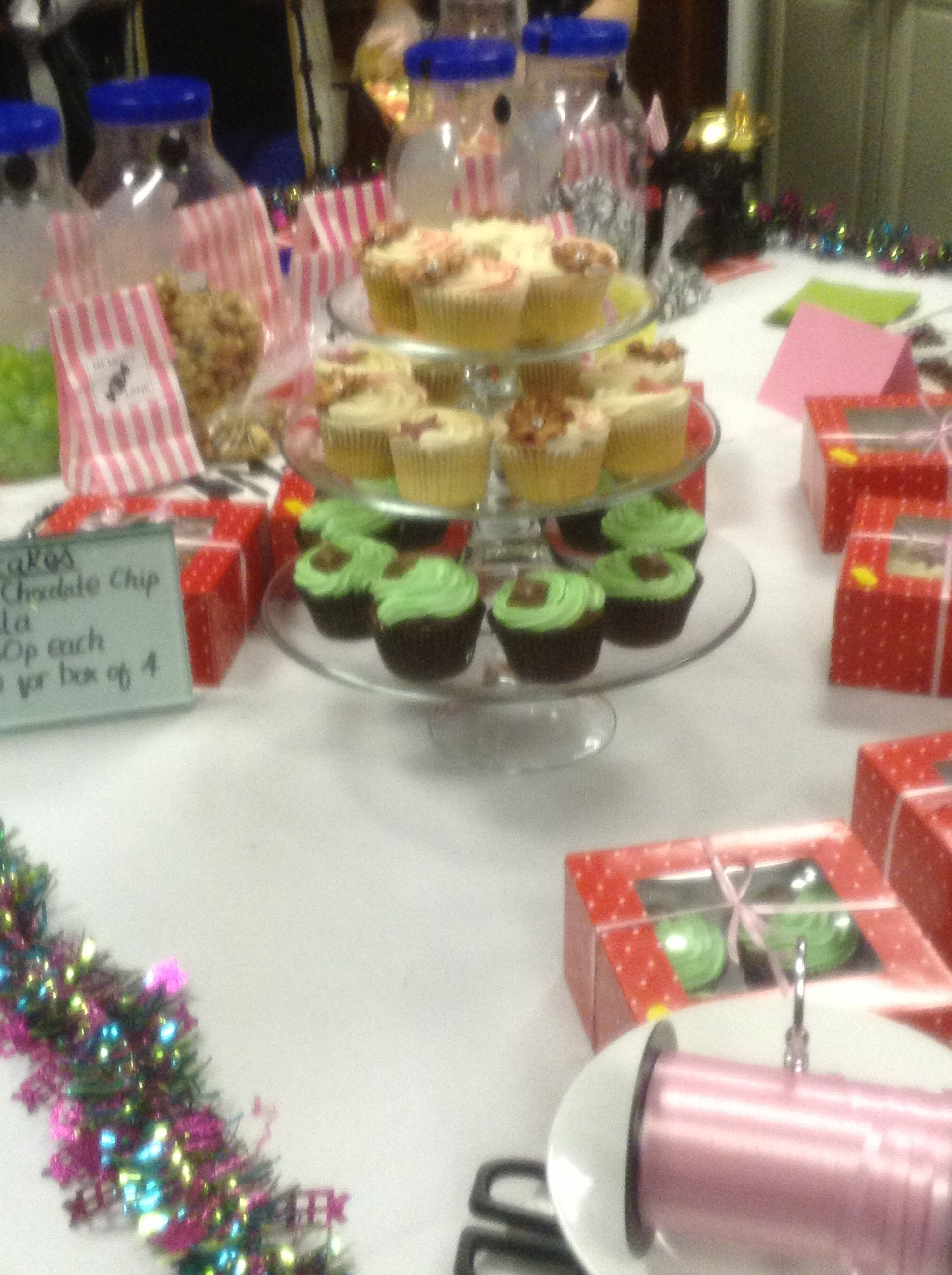 There were many tasty treats on offer!