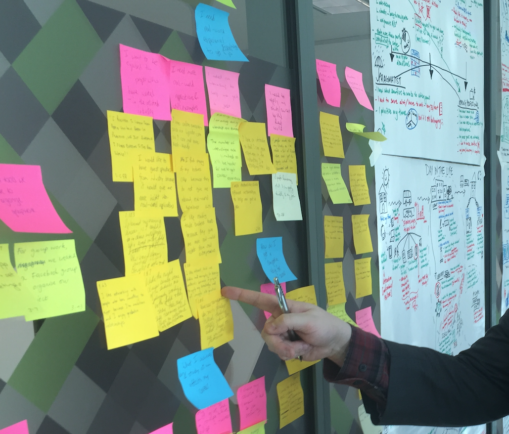 Design Ops: Teach a Fortune 500 education company how to be design thinkers