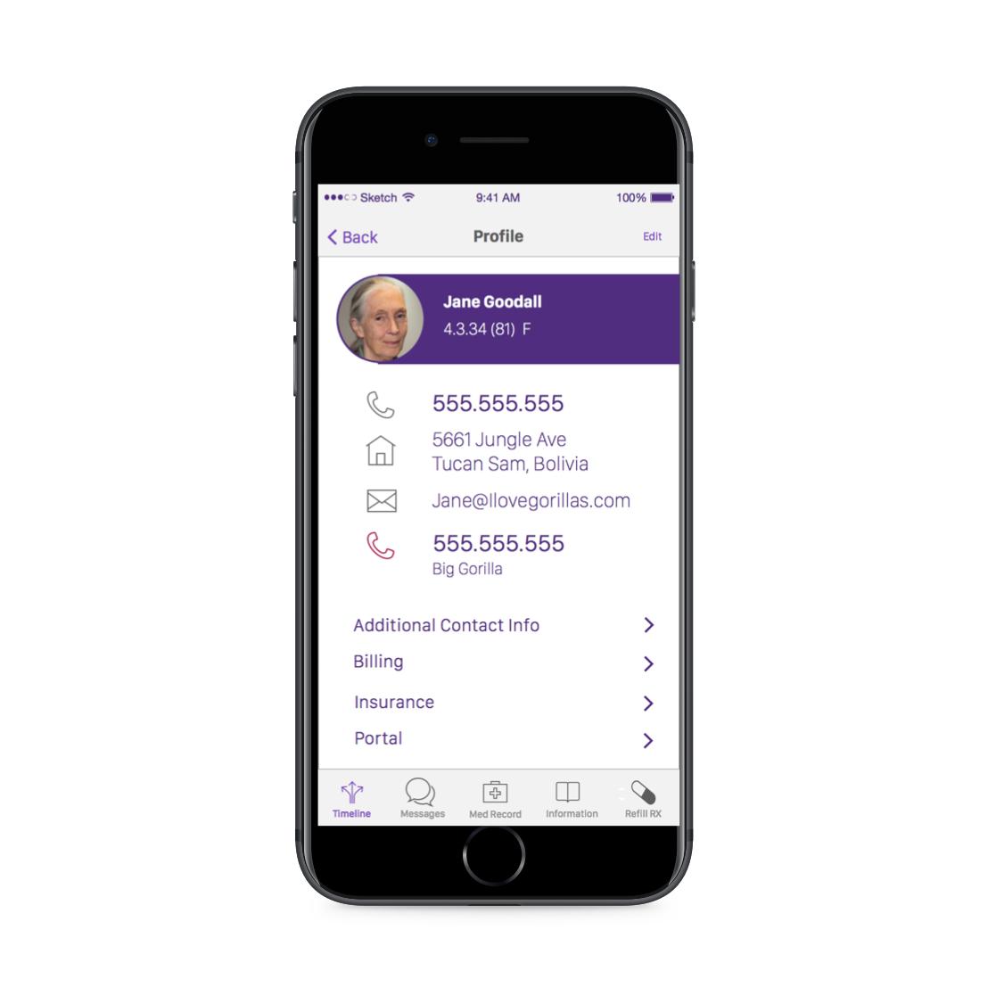 Mobile Healthcare UX: Design a better interface for a patient portal