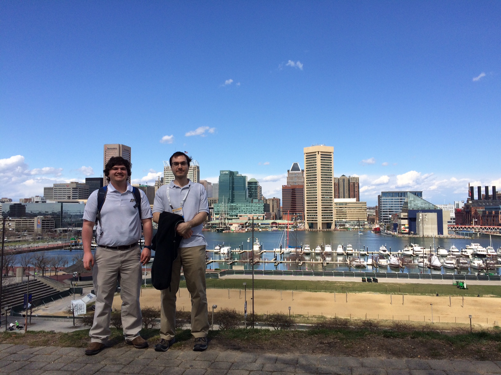 Baltimore skyline at APS March Meeting 2016