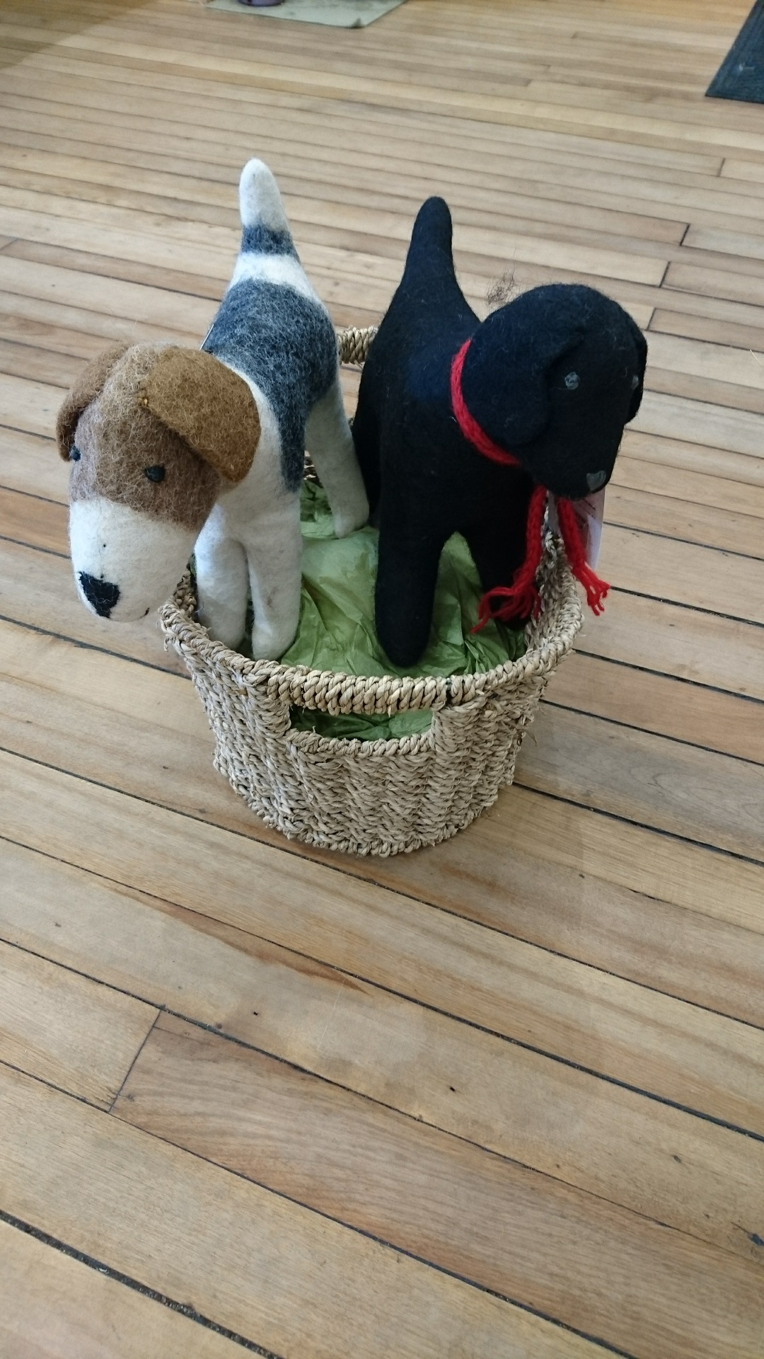 Sproule's Emporium Felt Dogs.JPG
