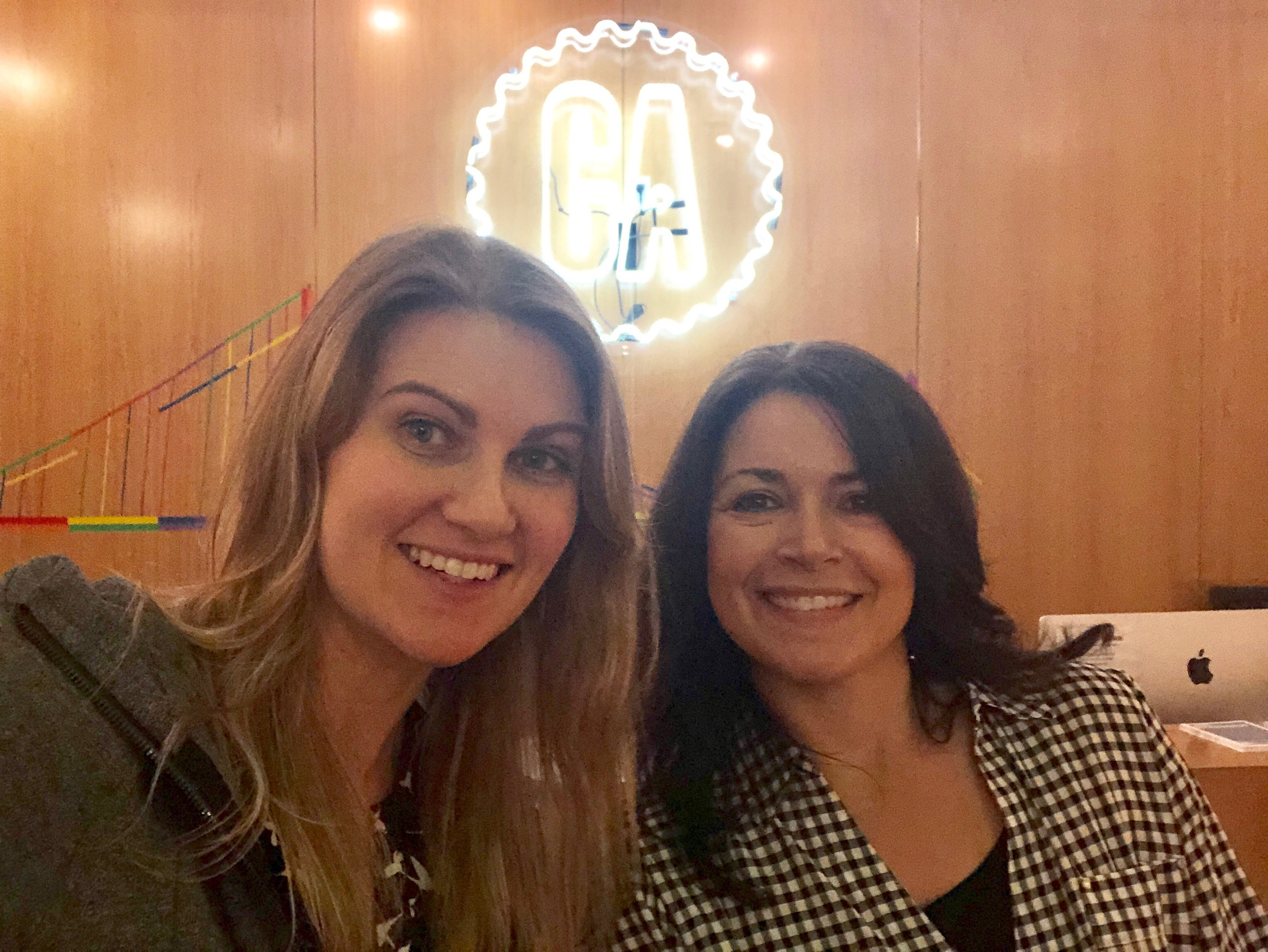 Sarah Buczek (me) and Natalie Stroven at General Assembly San Francisco 225 Bush St. San Francisco