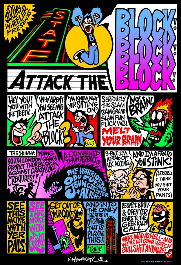 ATTACK THE BLOCK PSA COMIC
