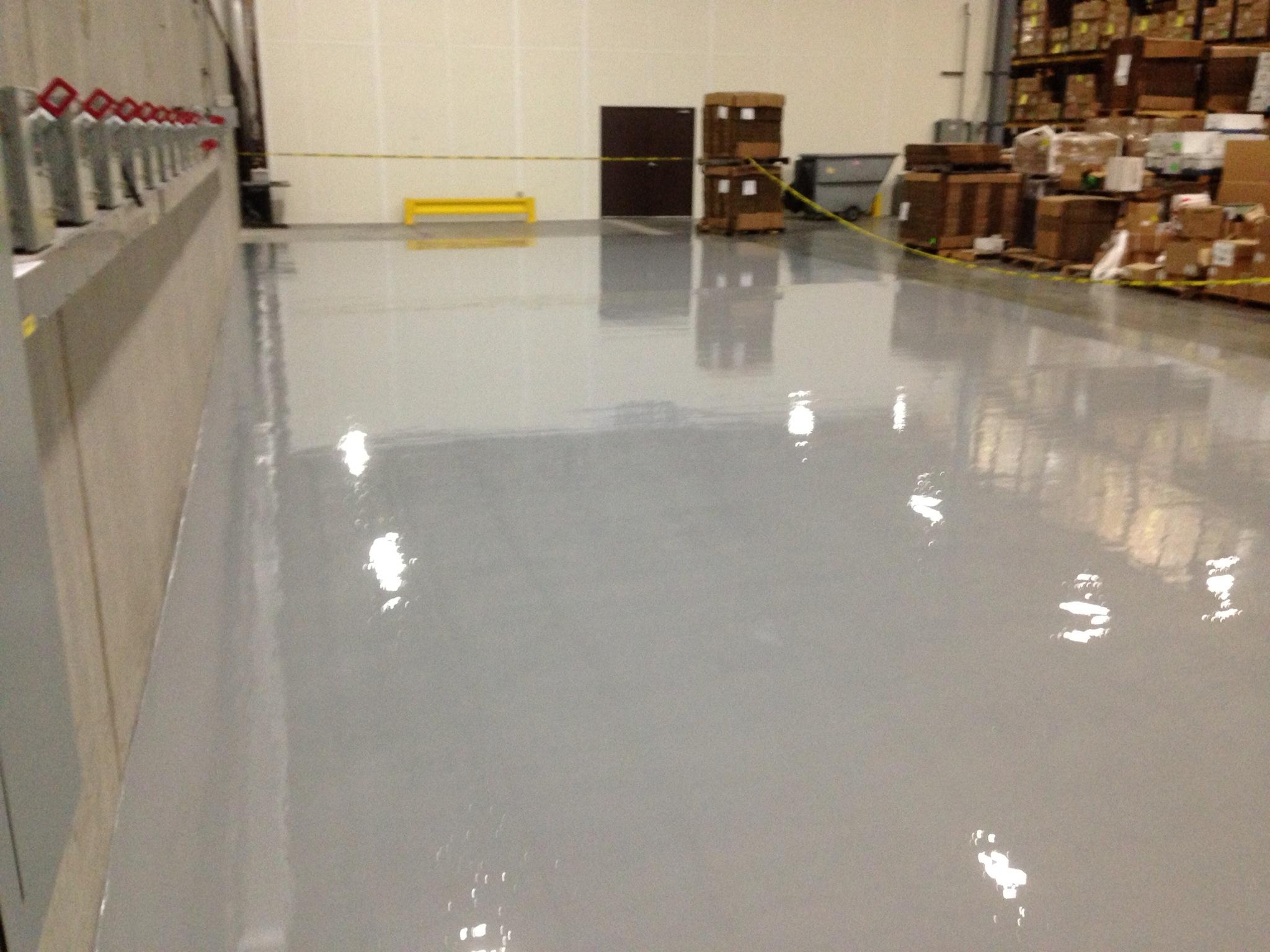 Chemical Resistant Resinous Flooring