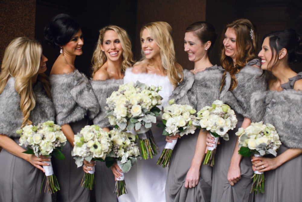 Our winter glam wedding - January 2014 -  Megan W Photography