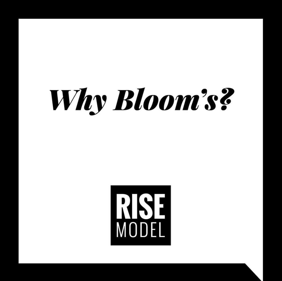 RISE Model Emily Wray Bloom's