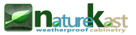 NatureKast - NatureKast®has revolutionized the outdoor cabinetry industry with 100% waterproof products. Using the latest in high density resin technology, NatureKast provides cabinets, panels, trim and more with the look of real weathered cypress.