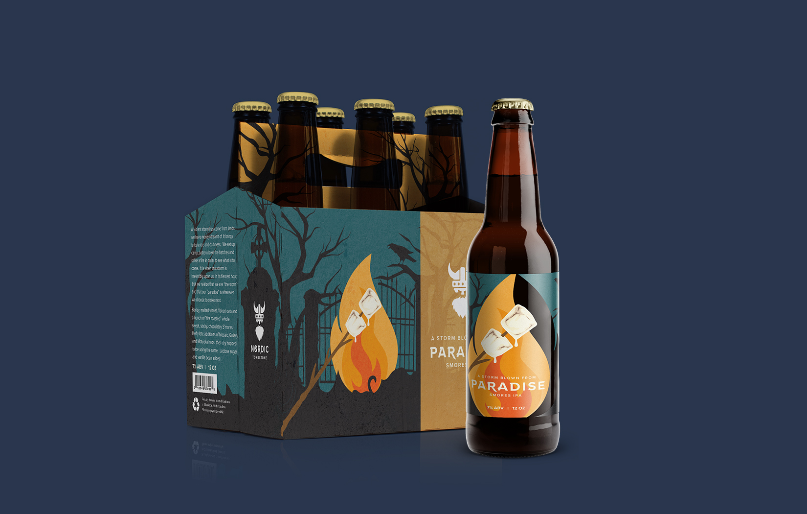 NORDICTOMBSTONE - Winner of this year's AIGA Beer + Branding, the Nordic Tombstone branding and packaging is one of my most recent success stories.