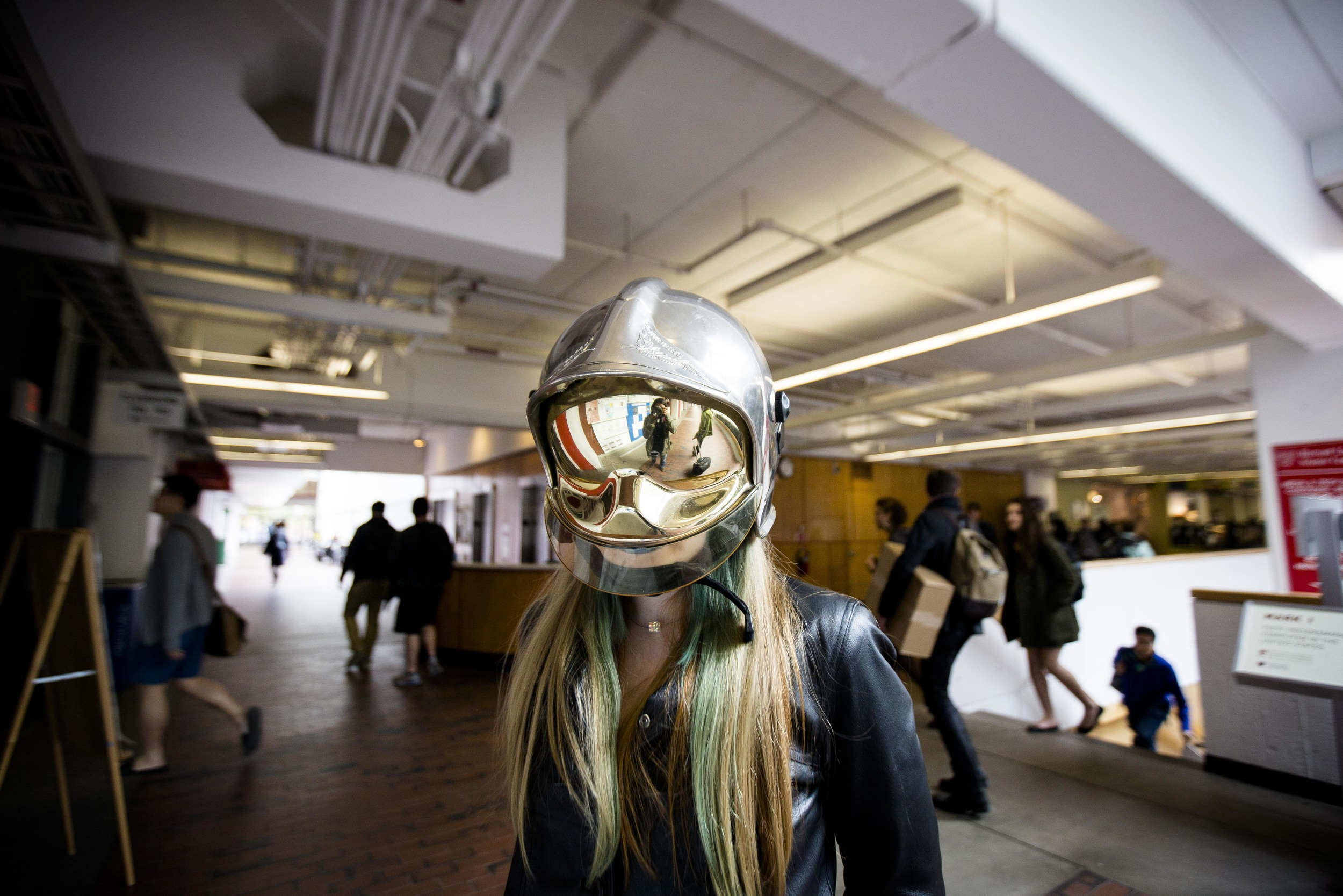 """Annaleah Ernst, 17"""". Daft Punk. Photo By Ann Wang"""