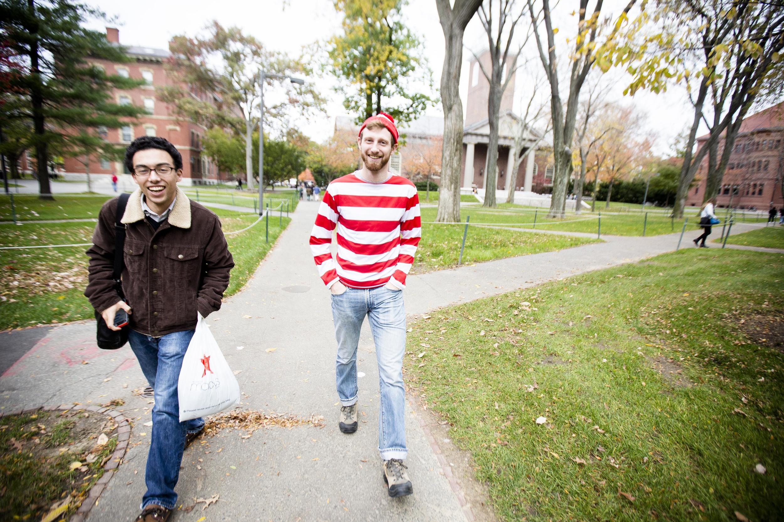 akob, Lindaas '13. Waldo. Photo By Ann wang